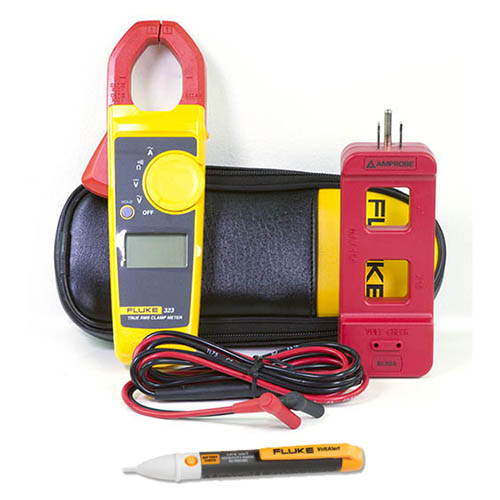 323-ELS2A-2AC901000V-DD True-RMS Clamp Meter Kit with Clamp Circuit Breaker and Non-Contact Voltage Tester