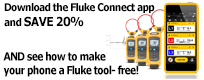 Fluke Connect App Promotion