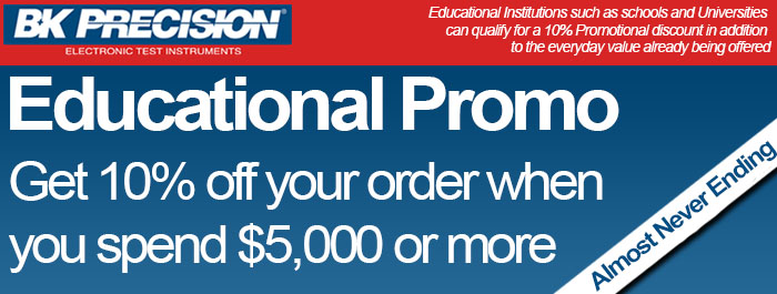 BK Precision Educational Discount!