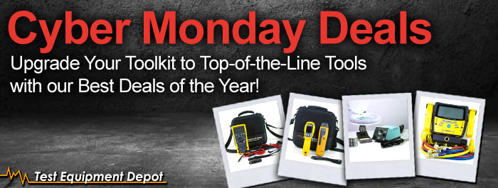 Test Equipment Depot Black Friday Sales Event!