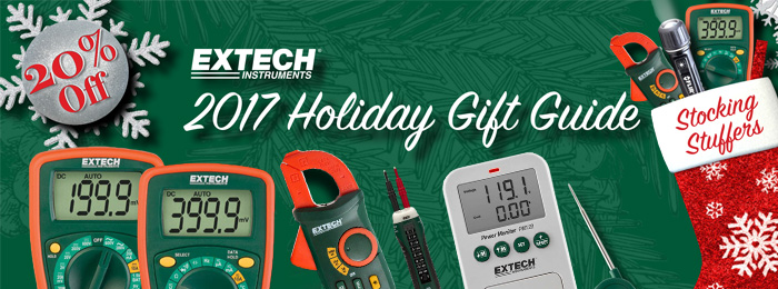 Extech Holiday Gift Guide