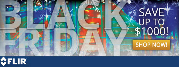 Flir Black Friday Specials Promotion!