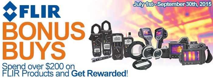 Flir Bonus Buys Promotion!