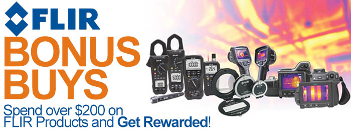 FLIR 2016 Q1 Bonus Buys Promotion!