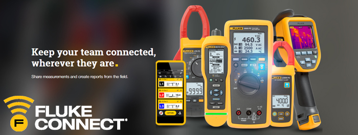 Stay Connected with Fluke Connect!