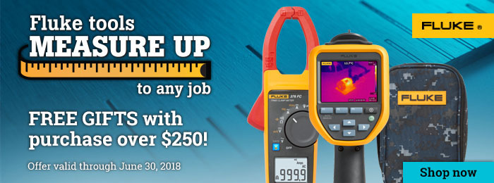 Fluke Measure Up Promotion