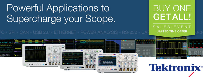 Tektronix Buy One Get All Software Promotion!