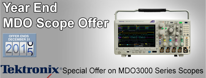Tektronix 2015 Year End Offer Promotion!