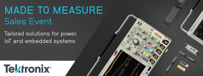 Tektronix 2016 Made to Measure Promotion!