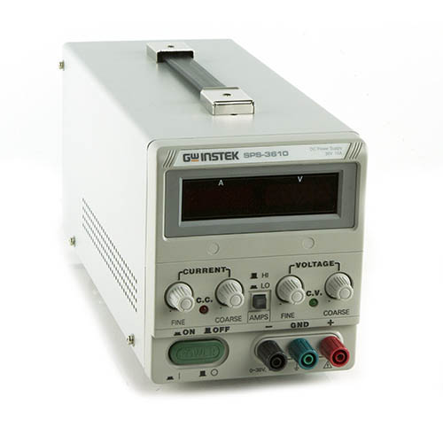 Instek SPS3610 Switching DC Power Supply, 36V/10A