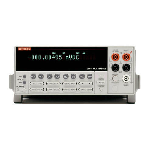Keithley 2001/MEM2 7 1/2-digit Hight Performance Multimeter with GPIB Interface, 128K Memory
