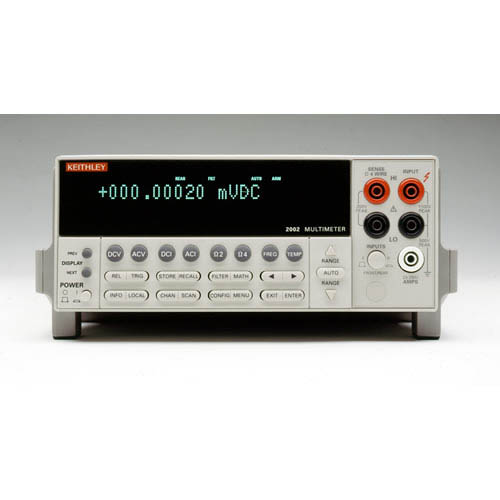 Keithley 2002/MEM2 8 1/2-digit High Performance Multimeter with GPIB Interface, 128K Memory