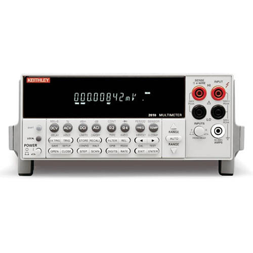 Keithley 2010 7 1/2-digit Low Noise Autoranging Multimeter with GPIB & RS-232 Interfaces