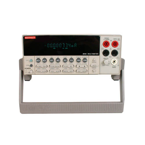 Keithley 2010 7 1/2-digit Low Noise Autoranging Multimeter with GPIB & RS-232 Interfaces (Front/Handle)