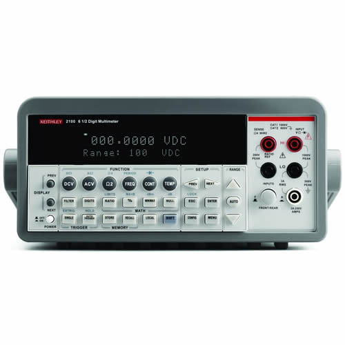 Keithley 2100/120 6 1/2-digit Multimeter with USB Interface, 120V Line Input