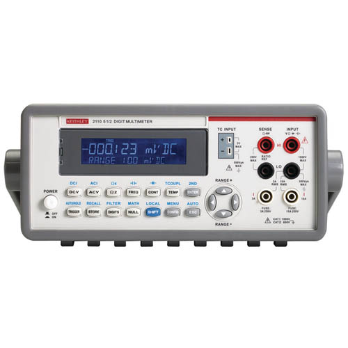 Keithley 2110-120 5 1/2-digit Multimeter with KI Tool Software/USB Interface, 120V Line Input