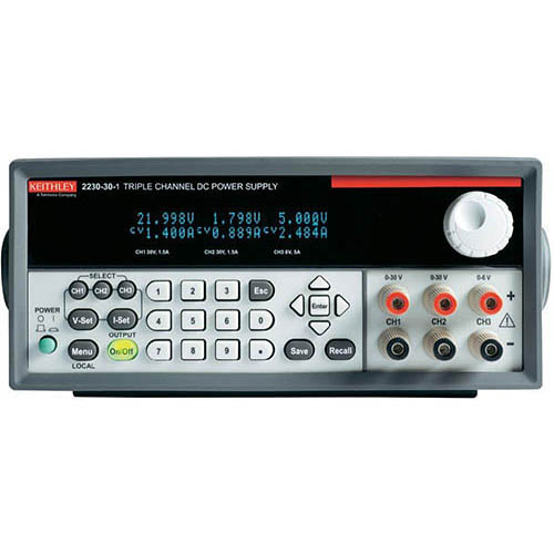 Keithley 2230-30-1 Triple-Output Programmable DC Power Supply with USB Interface