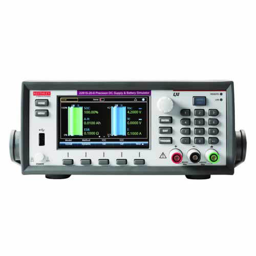 Keithley 2281S-20-6 Precision DC Supply/Battery Simulator with GPIB, USB, & LAN Interfaces, 20V/6A