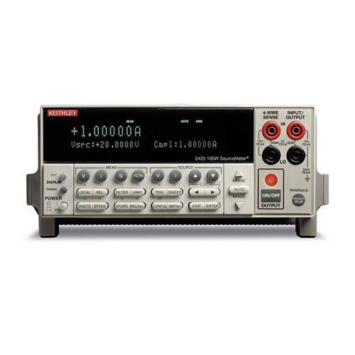 Keithley 2425 SourceMeter (SMU) Instrument with GPIB & RS-232 Interfaces, 100W