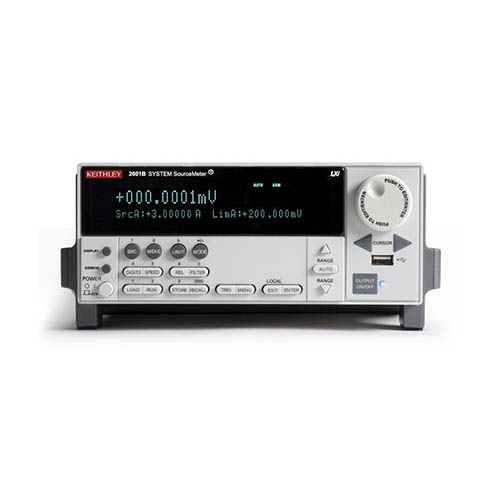 Keithley 2601B 1-Channel System SourceMeter (SMU) w/USB, LXI-C, GPIB, RS-232, Digital I/O, 3A DC/10A