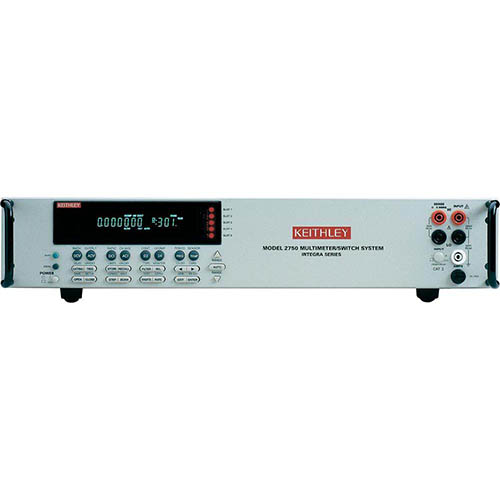 Keithley 2750 DMM/Data Acquisition/Datalogging System with 5-Slot Systems Switch/GPIB & RS-232