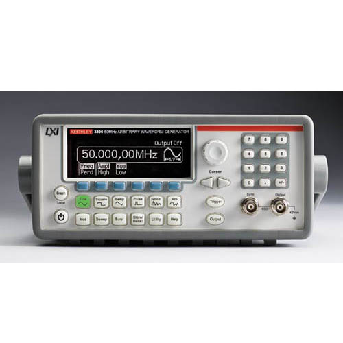 Keithley 3390 Arbitrary Waveform/Function Generator with GPIB, USB, & LAN Interfaces, 50 MHz
