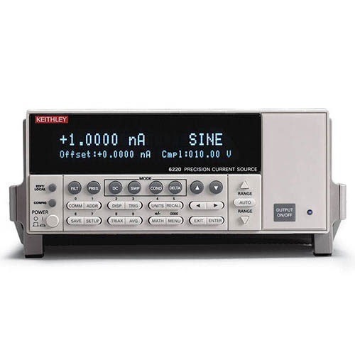 Keithley 6220 Low Noise Precision DC Current Source with GPIB & RS-232 Interfaces