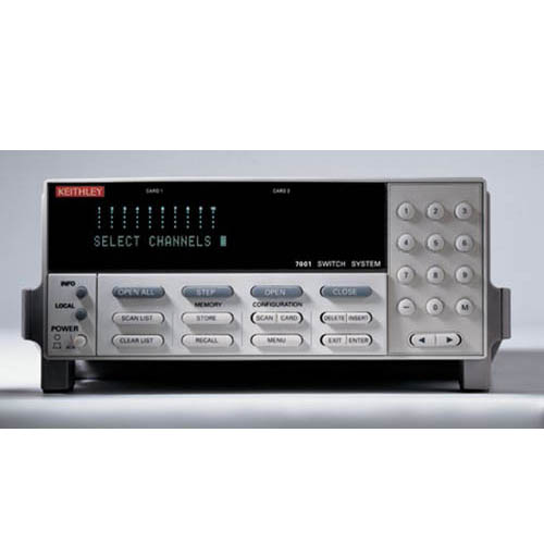Keithley 7001 80-Channel 2-Slot Switch/Control Mainframe