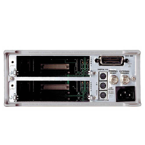 Keithley 7001 80-Channel 2-Slot Switch/Control Mainframe (Back)