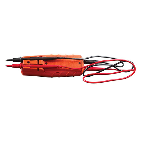Klein Tools ET250 AC/DC Voltage and Continuity Tester, 2-600V (Angle View)