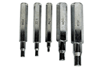 Mastercool 70048 Set of 5 Swaging Punches 1/4, 5/16, 3/8, 1/2, and 5/8