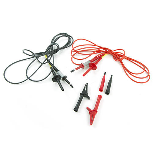 RED /& BLACK WITH NEXT DAY DELIVERY NEW MEGGER 2 WIRE TEST LEAD SET