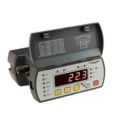 Milli Micro Ohmmeter Or Low Resistance Ohmmeter : Megger dlro digital low resistance ohmmeter a at
