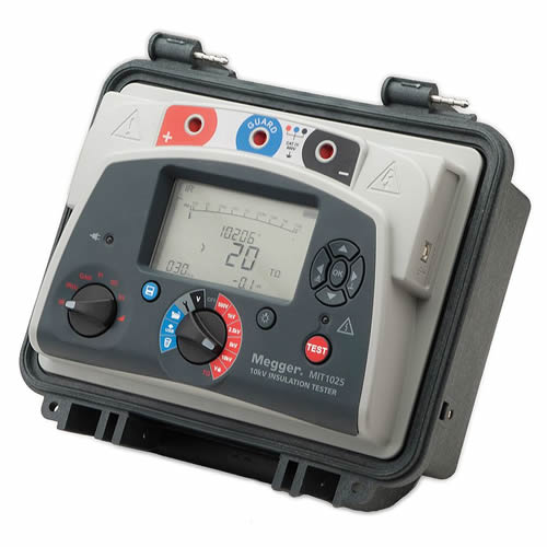 Megger Insulation Resistance Tester : Megger mit kv diagnostic dc insulation resistance