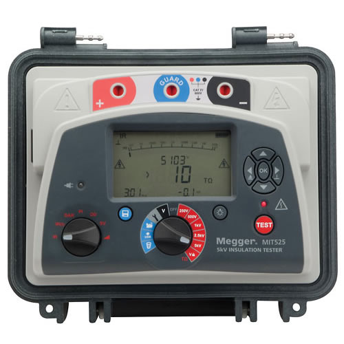 Megger MIT1525-US 15 kV Diagnostic DC Insulation Resistance Tester