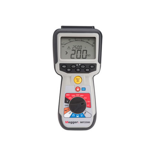 Hand Held Tester : Megger mit kv high voltage hand held insulation