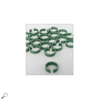 Metcal AC-GK1 Identification Rings for Soldering Cartridges (Green, Pack of 20)