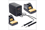 Metcal MFR-2222 MFR-2200 Dual Port Simultaneous Soldering/Rework System w/2 Hand-Pieces/2 Workstands