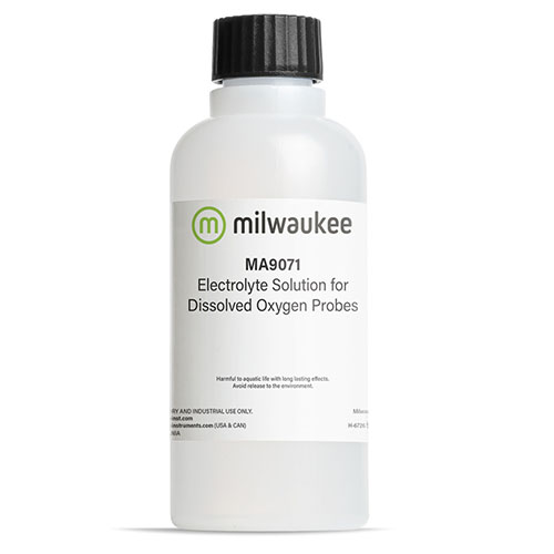 Milwaukee Ma9071 Oxygen Electrolyte Solution 230ml For