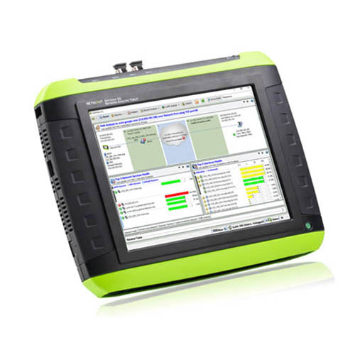 NetScout OPVXG/DOD-200 OptiView XG Network Analysis Tablet, 1 Gbps data rate, wireless