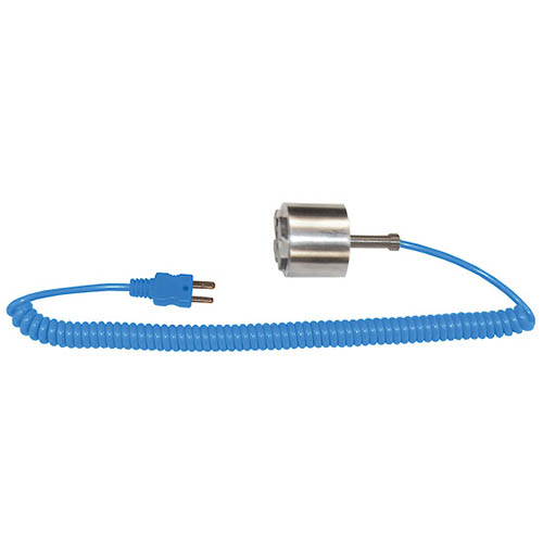 Oakton WD-08500-86 Digi-Sense Dropping/Magnetic Thermocouple Probe, Type-T, 5-ft. Coiled Cable