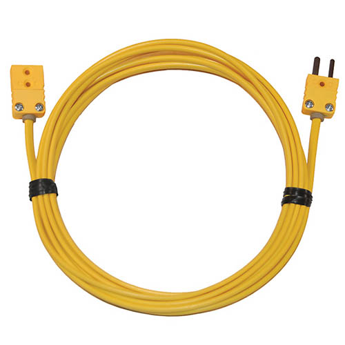 Thermocouple Extension Cable : Oakton wd thermocouple extension cable type k