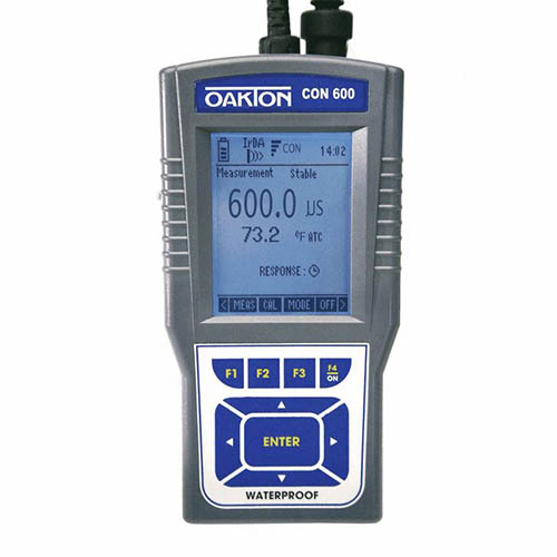 Oakton WD-35408-01 CyberScan CON 600 Conductivity/TDS Meter and Probe with NIST Calibration