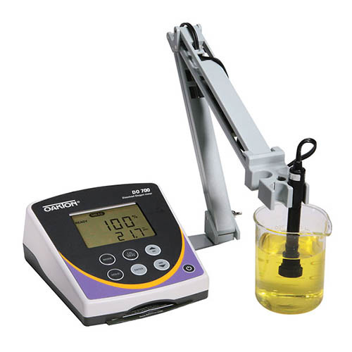 Oakton WD-35415-00 Eutech DO 700 Dissolved Oxygen Benchtop Meter with Probe and Probe Stand