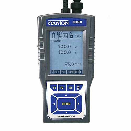 Oakton WD-35433-02 CyberScan CD 650 Conductivity/TDS/Salinity/DO/Temperature Multiparameter