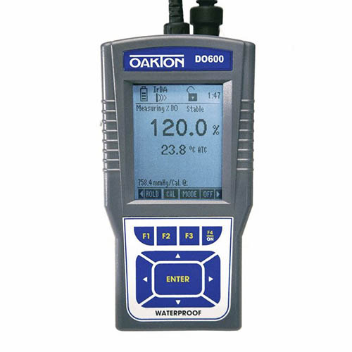 Oakton WD-35441-02 CyberScan DO 600 Dissolved Oxygen/Temperature Meter