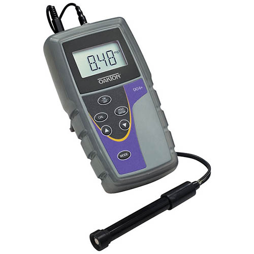 Oakton WD-35643-12 Eutech DO 6+ Dissolved Oxygen Meter w/DO Probe, Electrolyte Solution, Caps, Boot