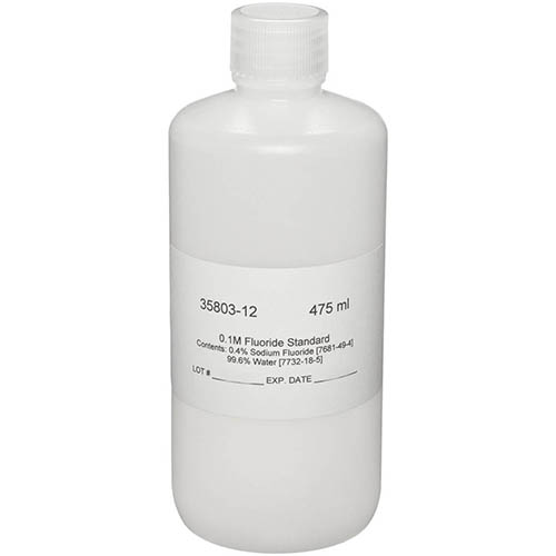 Oakton WD-35803-12 Replacement Calibration Standard-0.1M Fluoride, 475ml