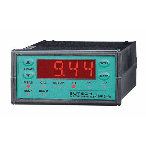 Oakton WD-56700-00 Eutech pH 200 pH/ORP Controller, Includes Mounting Hardware and Terminal Blocks
