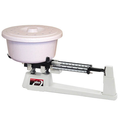 OHAUS 730-00 Triple Beam Mechanical Balance, Cap. 610g, Res. 0.1g, Animal Container